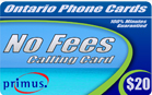 No Fees Calling Card