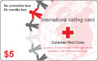 Red Cross Calling Card