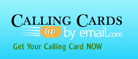Calling Cards By Email